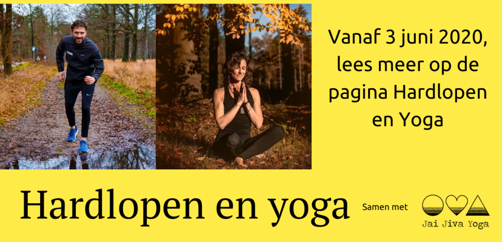 Hardlopen en yoga juni