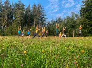 Hardlopen en yoga